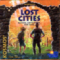 Lost Cities Cardgame