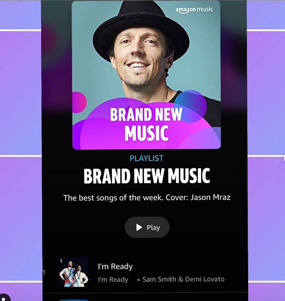 Christy McDonald lands Amazon music brand new music best songs! w/ Sam Smith, 21 Savage, Kenny Chesney, John Legend and more!