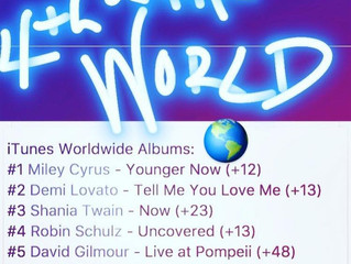 Album debuts 4th in the World on iTunes World Chart. Christy McDonald ft. on Robin Schulz album Unco