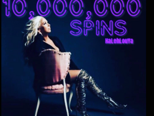 Surpasses 12 MILLION SPOTIFY SPINS