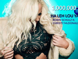 HaLehLouYa Robin Schulz ft. Christy McDonald Continues to Climb