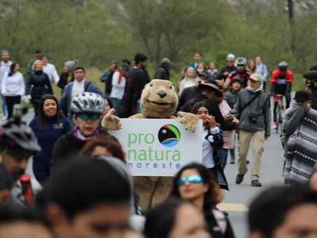 ¡Todo un éxito la marcha ciudadana por el derecho humano a un medio ambiente sano!