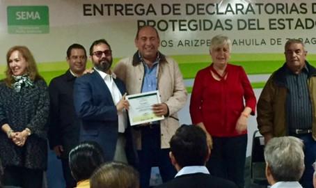 Pronatura Noreste establece 3 Áreas Naturales Protegidas voluntarias por decreto estatal en Coahuila