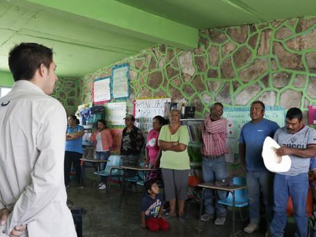 Pronatura Noreste dio taller de organización comunitaria en el ejido La Esperanza