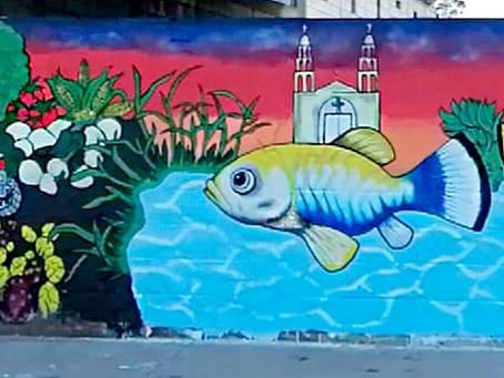 Se concluyó el mural colectivo para la conservación de la biodiversidad de Julimes, Chihuahua.