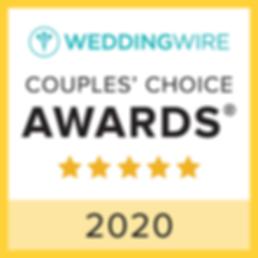 WeddingWire 2020 Awar