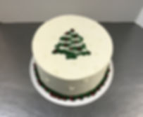 Chrismas Tree Cake by FlourGirl Patissier