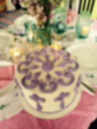 Birthday cake by FlourGirl Patissier