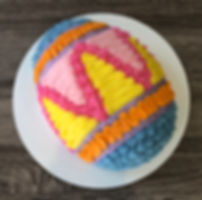 Easter Egg Cake by FlourGirl Patissier
