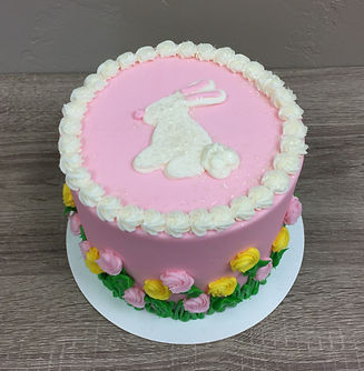 Easter Bunny Cake by FlourGirl Patissier