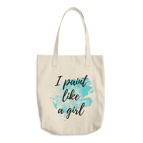 I Paint Like A Girl Tote