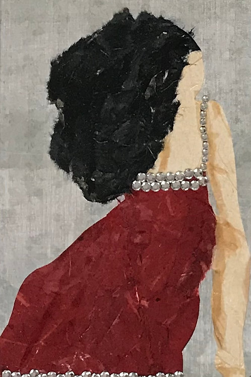 """Diva #3 (11"""" x 14"""" Matted)"""