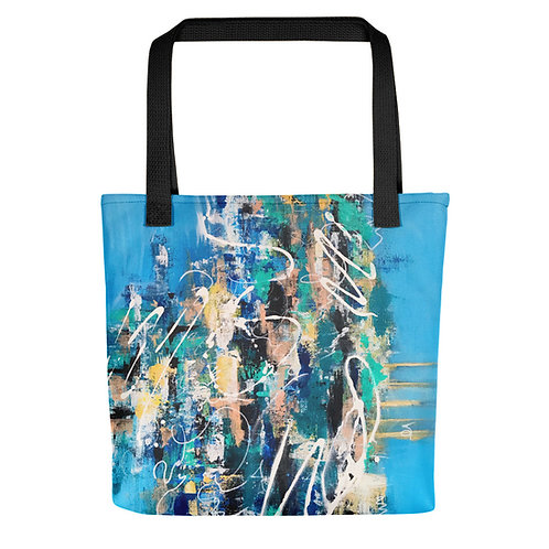 'City Life 12' Tote Bag