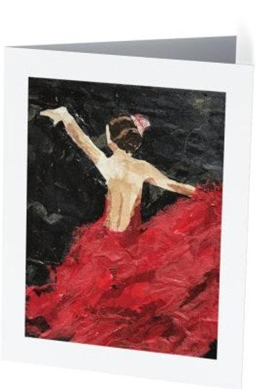 'Flamenco' Notecard Set