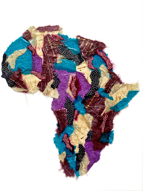 "Africa #4 (11"" x 14"" Matted)"