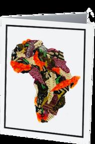 Africa 2 Note Card