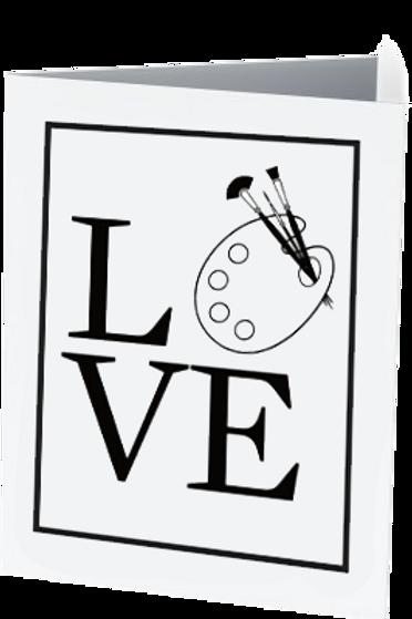 'Art Love' Notecard Set