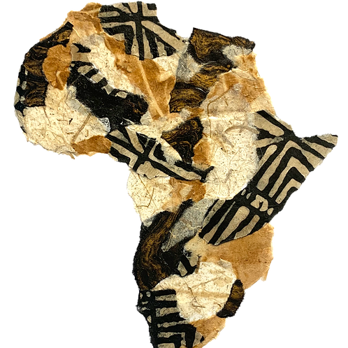 """Africa #3 (11"""" x 14"""" Matted)"""