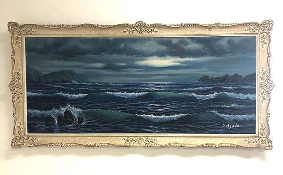 Oil on Canvas Signed by Salgado