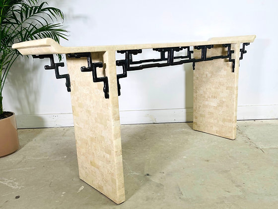 C1970s Maitland Smith Console Table