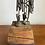 Thumbnail: Very Large Mid-Century Brutalist Bronze Sculpture by Harold Kerr
