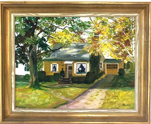 Vermont Scene Oil on Canvas