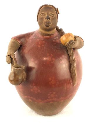 Victor Viera Peruvian Ceramic Form