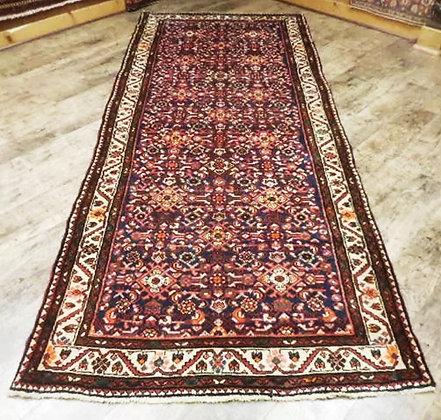Vintage Runner Persian Rug 4.2ft x 9.10 ft