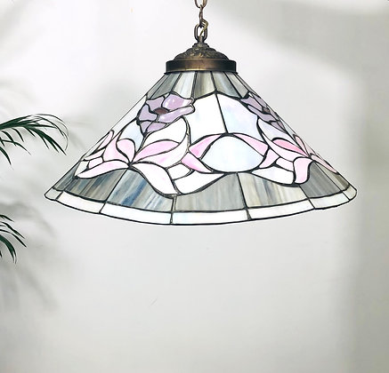 Tiffany Style Stained Glass Pendant Lamp