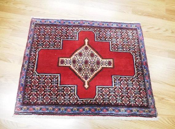 Antique Oriental Persian Rug 2.5ft x 2.10ft