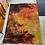 Thumbnail: Vintage 1970s Scandinavian Fire Pattern Shag Rya Rug/Ege Rya