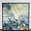 Thumbnail: Mid-Century Modern Abstract Painting Signed