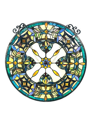 Victorian Style Stained Glass Sun Catcher