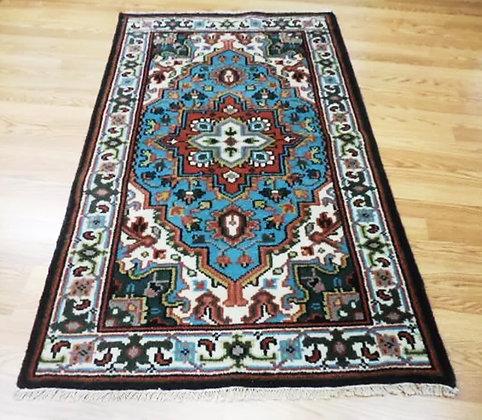 Exquisite Persian Wool Rug 3ft x 5.1ft