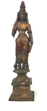 Bronze Lakshmi Goddess