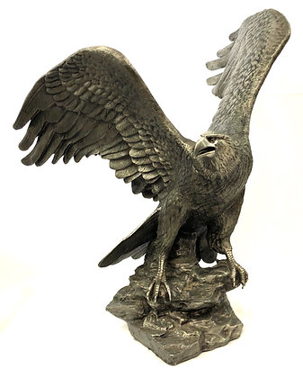 Ronald Van Ruyckevelt Solid Pewter Eagle