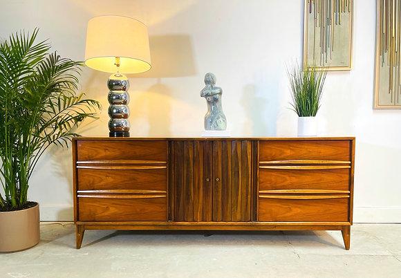 Mid-Century Modern Walnut Dresser / Credenza by Thomasville Furniture