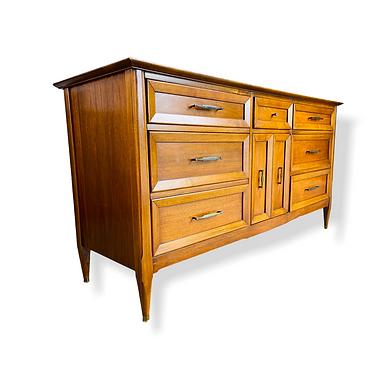 Mid-Century Modern Walnut Dresser / Credenza