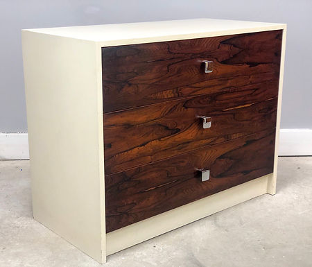 Mid-Century Modern Rosewood Bachelor Chest