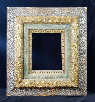 """19th Century Victorian Floral Picture Frame 23""""x21"""""""