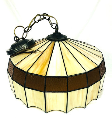 Stained Glass, Tiffany Style Pendant Lamp