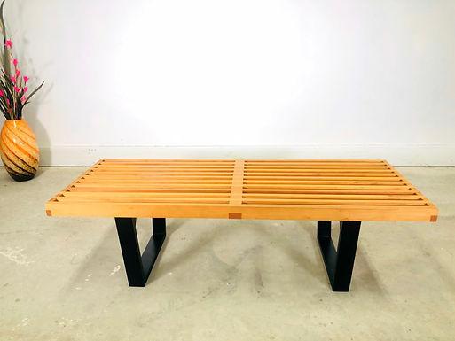 Vintage George Nelson Platform Salt Bench/Coffee Table