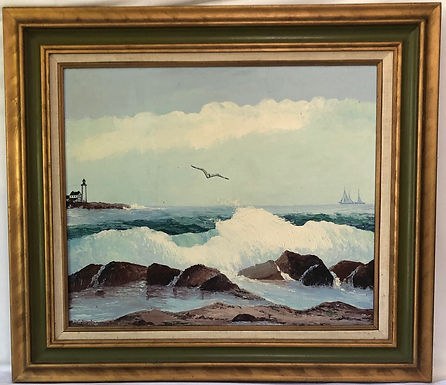 Oil on Canvas - Signed Mary Brooks