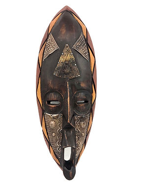 Hand Crafted Mask from Ghana