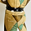Thumbnail: Rare Collectible Mid-Century Modern Marbro Harlequin Jester Table Lamp