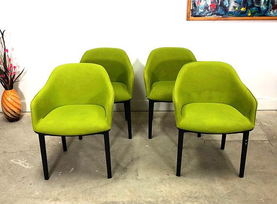 Set 4 Vitra Softshell Chair