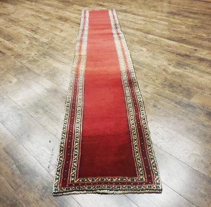 Narrow Vintage Runner Oriental Persian Rug