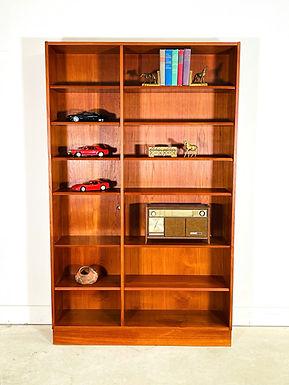 Mid-Century Danish Modern Teak Bookcase