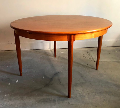 Niels Otto Moller for J. L. Moller #15 Teak Table with Butterfly Leaf