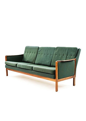 Mid-Century Danish Modern Rosewood Sofa